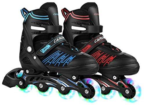 Inline Skates Skating Shoes for Beginner Sports Indoors and Outdoors Recreation Fitness for Children,Men and Women Roller Skates