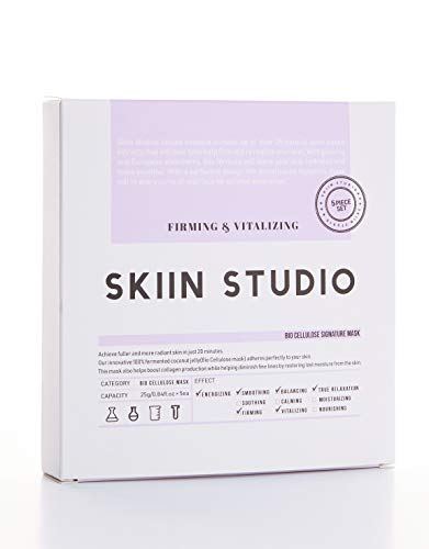 SKIIN STUDIO Facial Mask K Beauty Customized for Your Skin (Firming and Vitalizing)
