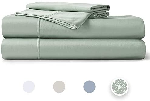 """Hyde Lane 400TC Sateen Cotton King Sheet Set Teal