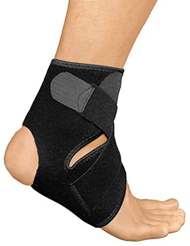 Ankle Support Brace Sleeve for Women Men, Compression Sports Wraps Guard for Running Basketball Volleyball Football Adjustable