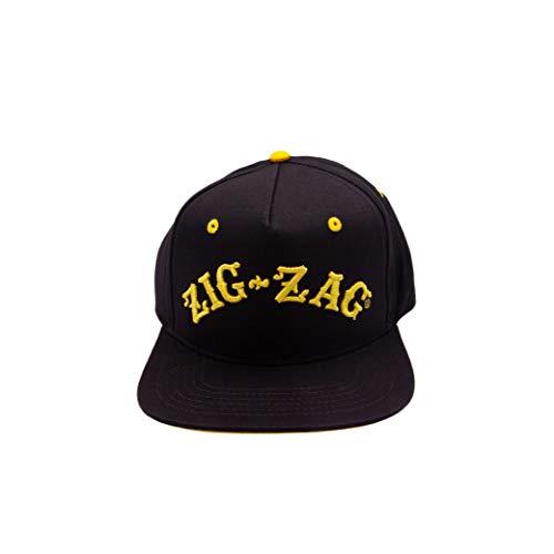 ZIG-ZAG Logo Hat - Black