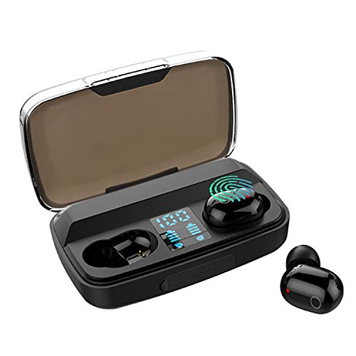 Bluetooth Earbuds V5.0, Ownta Bluetooth Headphones With Charging Case,LED Power Display Screen,IPX8 Sports Headsets Bass Stereo Sound Built in Mic compatible with iPhone/Samsung/iPad FZ002