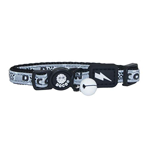 DOCO Signature Nylon Cat Collar with Safety Buckle - Adjustable & Breakaway - New for 2019