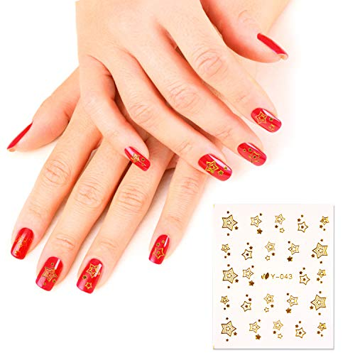 Nail Art Stickers, FunPa 78 Sheets Gel Nail Decals with Butterfly Flower Patterns Water Transfer Nail Stickers for Women Kids Fingernail Decorations Nail Art Accessories Decals DIY or Nail Salon