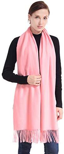 LERDU Womens Cashmere Shawls Wraps Scarves Fashion Large Warm Shawls Xmas Gift Idea Winter Pashmina Shawls for Women