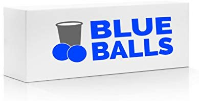 Blue Balls Pong - Take Your Beer Pong Party Game to The Next Level