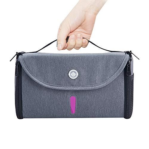 Zuvy Foldable LED Sanitizer Bag, Portable Multi-Purpose LED Light Bag for Household Items