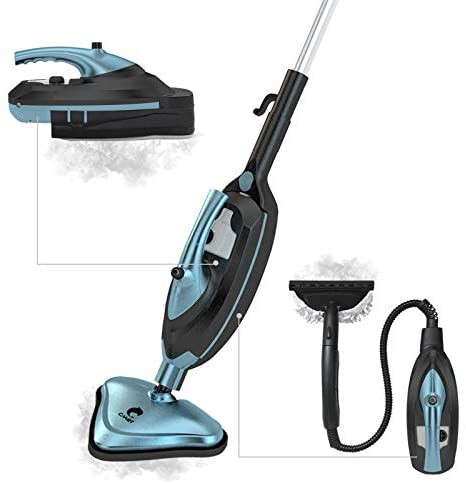 Cahot Multipurpose Steam Mop Cleaner, Detachable Handheld Steam Cleaner, Pressurized Cleaning for Most Floors, Appliances, Windows, Autos, and More