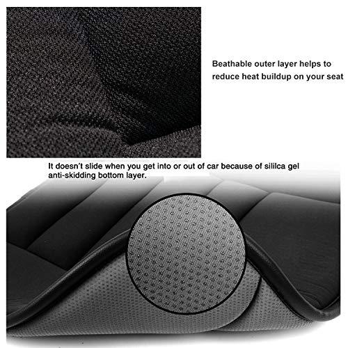 Car Seat Cushion Pad Car Driver Seat Office Chair Home Use Memory Foam Seat Cushion