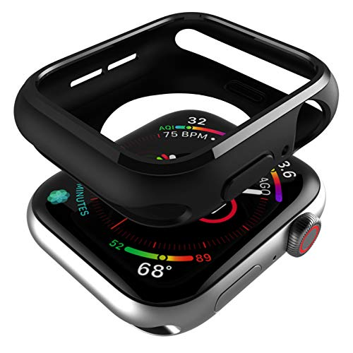 CQTECH Compatible Apple Watch Case 44mm Series 4, Soft Flexible Anti-Scratch and Shockproof TPU iWatch Bumper Cover for Apple Watch 44mm Case