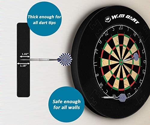 WIN.MAX Dart Board Backboards Dart Backboard EVA Reversible Dart Board Surround Protector Wall Accessories