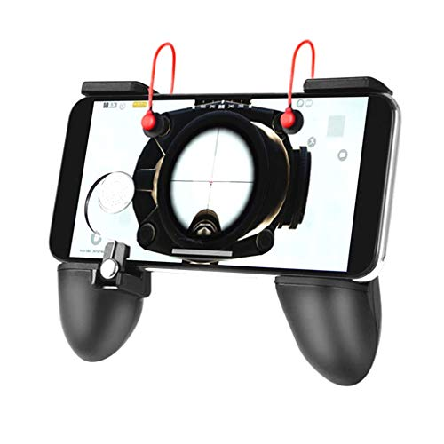 MIWORM PUBG Mobile Controller - Mobile Game Controller, Cellphone Game Trigger, Battle Royale Sensitive Shoot and Aim Gift for Kids (Mobile Game Controller A)