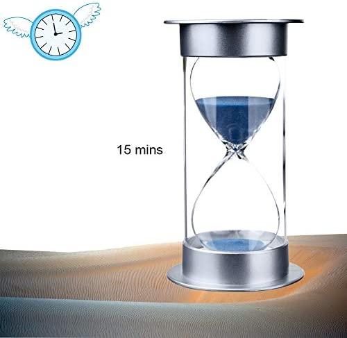 Hourglass Timer Kids - Sandglass Timer, Sand Clock 15 Minutes, Time Manager, Home Decoration