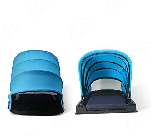 Tripirit Portable Sun Shade Canopy - Small Sun Beach Shader Beach Shelter, Sun Protection for Face While Sunbathing