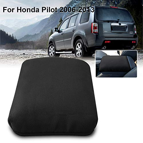 Seven Sparta Armrest Cover for Honda Pilot 2006-2013, Waterproof Center Console Cover, Black