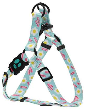 DOCO LOCO Step-in Dog Harness - Colorful Designs, Comfort Fit, Good for Training and Walking - New for 2019
