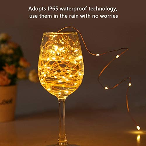 Solar String Lights Outdoor Decorative Waterproof Solar Rope Lights
