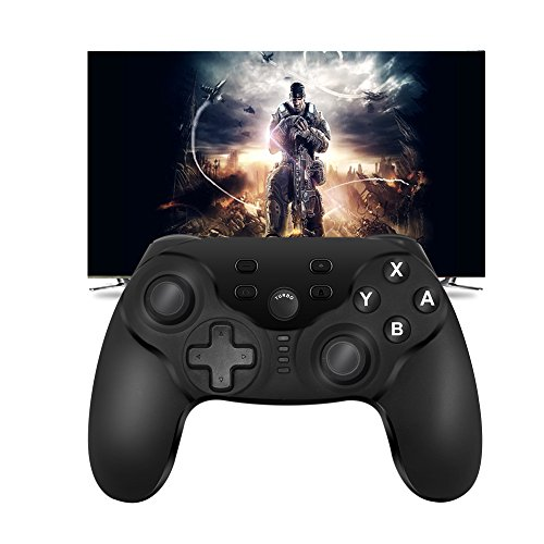 Jhua Wireless Pro Controller for Nintendo Switch PC, Bluetooth Game Controller Gamepad Remote Joypad with DualShock & Console Gyro Axis