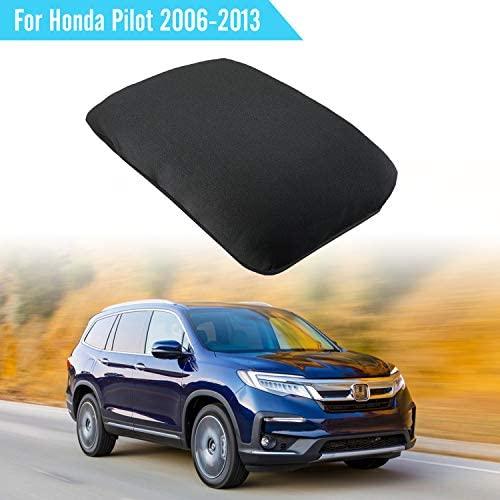Seven Sparta Center Console Cover for Honda Pilot 2006-2013, Waterproof Neoprene Armrest Cover, Black