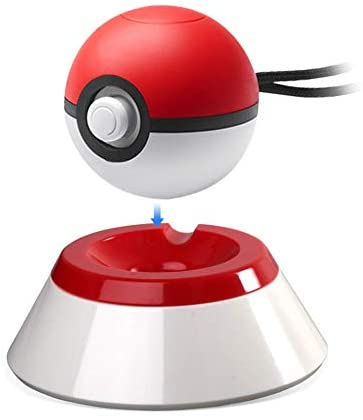 5 in 1 Pokeball Plus Charger Stand Charging Station Holder Fast Charging Cord Cable, Carrying Case, Silicone Cover Pokeball Accessories Kit for Nintendo PokÉMon Lets Go Pikachu Eevee Game Controller