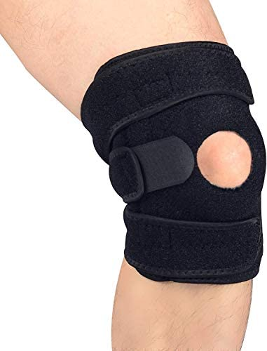 Patella Knee Brace with Side Stabilizers for Arthritis, Joint Pain Relief, Tendon Support for Running, Jumper, Tennis, Squats, Volleyball, Basketball, Injury Recovery