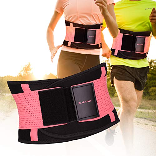Women's Trainer Belt, Back Brace for Lower Back Pain(L)