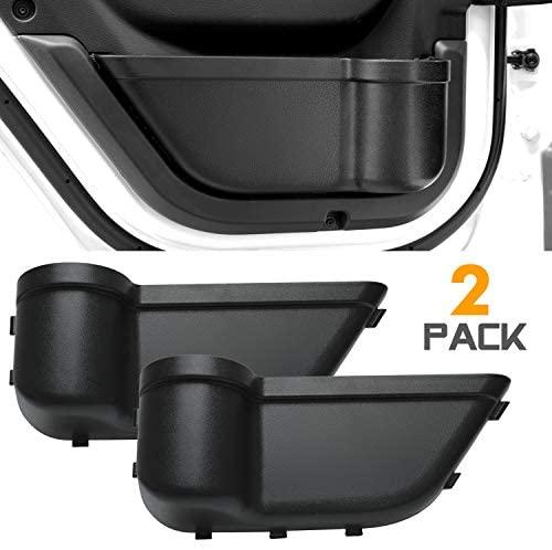 Seven Sparta Back Door Pockets for Jeep Wrangler JL JLU 2018-2019, Storage Inserts Accessories Organizer Box