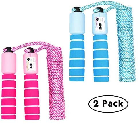 Soft Skipping Rope, Fitness Equipment with Foam Handles