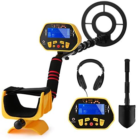 Metal Detector,High Accuracy Detector with Pinpoint Function,Professional Waterproof Metal Detectors for Adults and Kids, with Headphones