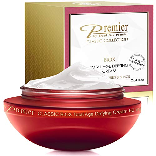 Premier Dead Sea Classic BIOX cream, Intensive Age Treatment Cream Anti-Age, anti wrinkle anti expression marks Complex, soft and gentle, light and non tacky 2.04 FL oz.