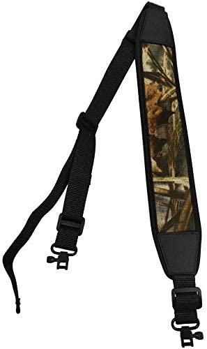 DAIXI Rifle and Shot Gun Hunting Sling,Comfort Stretch Rifle Sling with Swivels with Length Adjuster Traditional Sling for Outdoors