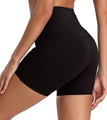 CTHH Workout Yoga Shorts for Women with Hidden Pocket High Waisted Running Athletic Biker Women's Shorts