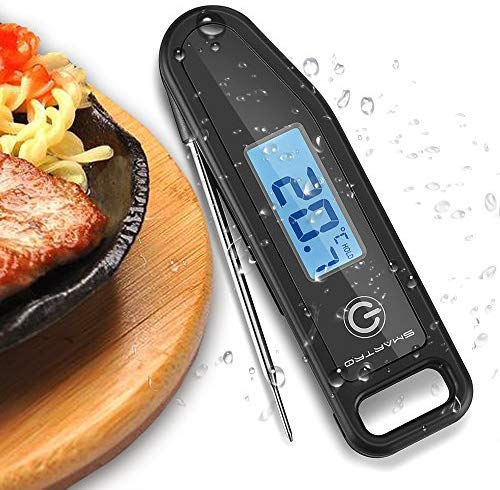 Meat Thermometer Cooking Food Thermometer Digital Thermometer for Candy, BBQ, Kitchen, Grilling, Smoker