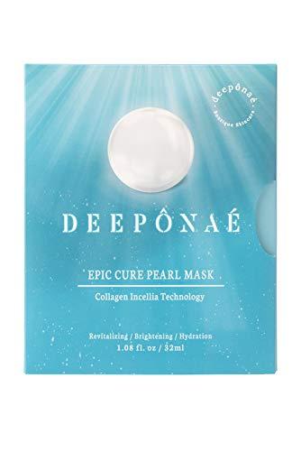 DEEPONAE Collagen Mask Pack Incellia Technology (Revitalizing Brightening Hydration) K Beauty