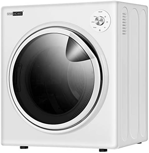 VIVOHOME 110V 1500W Electric Compact Portable Clothes Laundry Dryer Machine for Apartment 3.5 cu.ft 13lbs ETL Listed