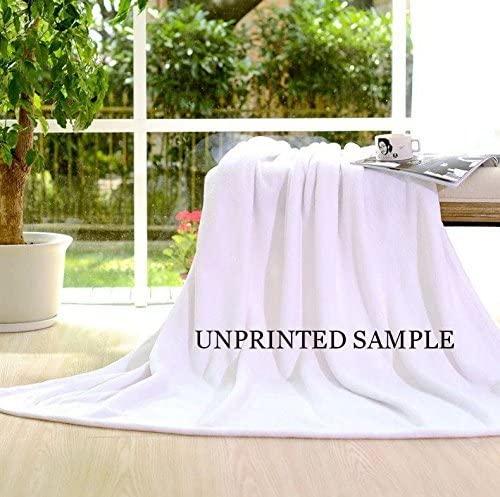 "BEEBEE Printing Elephant Velvet Plush Throw Blanket Bed Blankets Super Soft and Cozy Fleece Feeling Blanket for Travelling 58"" x80"""