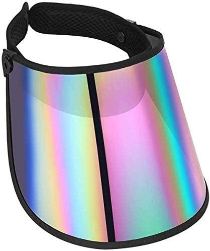Face Shield Protector Sun Visor Hat Cap UV Protection - Premium Adjustable Solar Headband