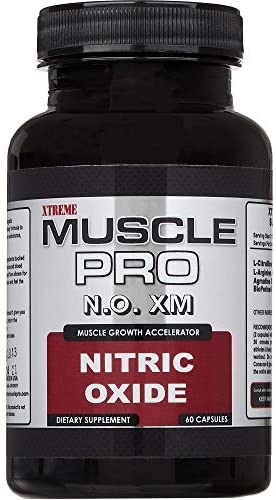 xTreme Muscle Pro Nitric Oxide Booster - XMP N.O. XM #1 Selling Stacked Formula - Muscle Building Supplement