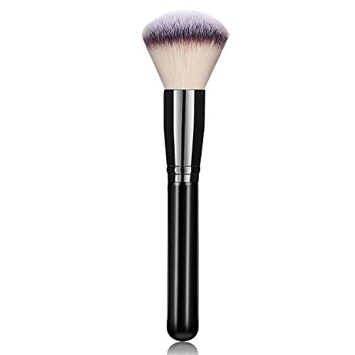 Foundation Makeup Powder Brush for Face, Hanamichi Makeup Brush Perfect for Blending Liquid, Cream or Flawless Powder Cosmetics - Buffing, Stippling, Concealer - Premium Quality Synthetic Dense Bristl