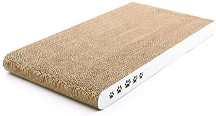 Coching Cat Scratcher Cardboard Scratch Pad with Different Scratch Textures Design Durable Scratching Pad Reversible