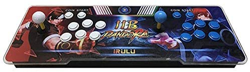 iRULU 3399 Arcade Game Machine,Family Pandora's Box Multiplayer Joystick Buttons Arcade Video Game for Home with 14 3D Classic Video Game, Newest System,Advanced CPU,Compatible HDMI and VGA (Box 11B)