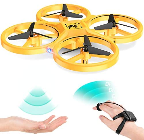 Uarzt Mini Drone for Kids 6 8-12 Year Old, Upgraded Kids Drone for Beginners, RC Nano Quadcopter w/Altitude Hold, Headless Mode, 3D Flips, One Key Return & Speed Adjustment, UFO Toy for 6 8 10 12 Kids
