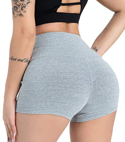 DILANNI Women's Volleyball Shorts - High Waisted Spandex Shorts for Women for Gym & Yoga