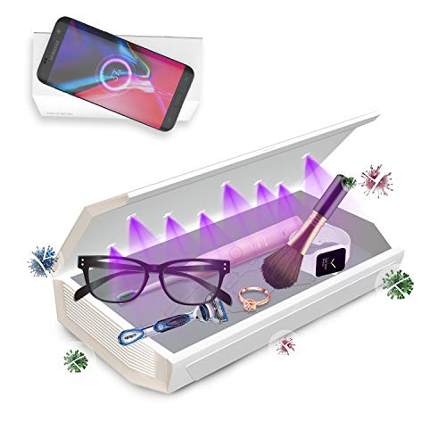 Cahot Portable Wireless Charging Box with Aroma Diffuser for Cell Phone, Jewelry, Beauty Tools, Nail Equipment