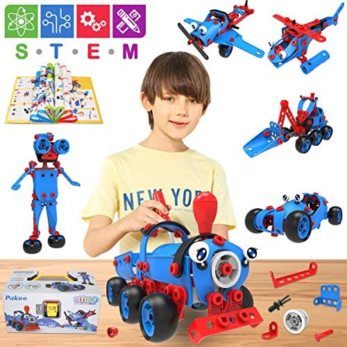 Educational Construction Building Blocks Toys Set for Boys Kids