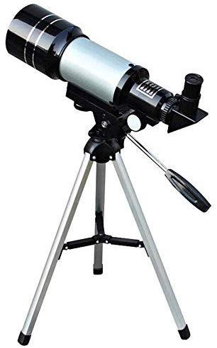 150X Professional Space Astronomical Monocular Telescope with Barlow Lens Eyepiece and Tripod and Moon Filter