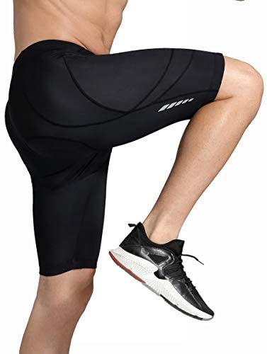 Men's Cycling Shorts 3D Padded Bike Riding Quick Dry Pants Bicycle Wear Tights UPF 50+