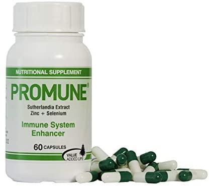 Value Added Life - Promune | Plant Based Supplement 100mg (60 Capsules) | Immunity System Support | Powerful Adaptogens | 1 Month Supply