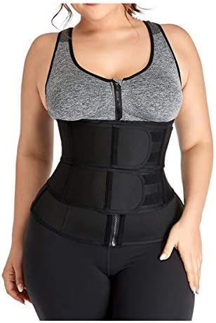 lttcbro Waist Trainer Belt Plus Size Tummy Slimming Sport Girdle Belt for Weight Loss Sauna Waist Cincher