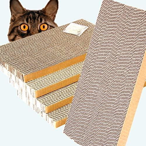 ShioSel, Cat Scratcher Cardboards Scratching Pads, Catnip Included